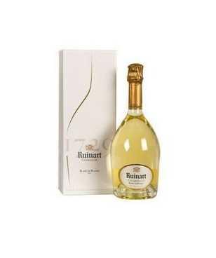 Ruinart Blanc de Blancs Champagne AOC Chardonnay con Astuccio