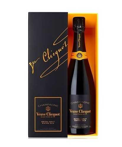 Veuve Clicquot Extra Brut Extra Old Champagne AOC con Cofanetto