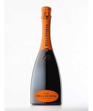 Bellavista Alma Cuvee Brut Franciacorta DOCG Chardonnay Pinot Nero Pinot Bianco Jeroboam