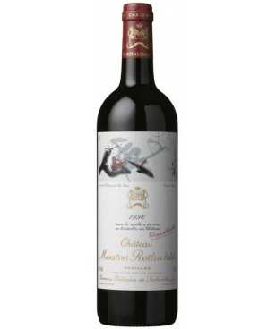 Pauillac Chateau Mouton Rothschild 1996 1ER Grand Cru Francia Bordeaux