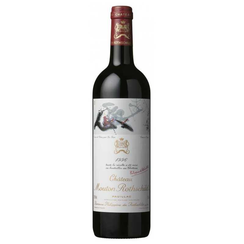 Pauillac Chateau Mouton Rothschild 1996 1ER Grand Cru Francia Bordeaux