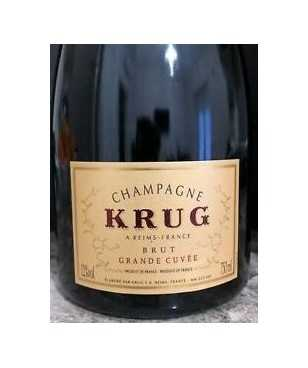 Krug Champagne AOC Grande Cuvée Without ID