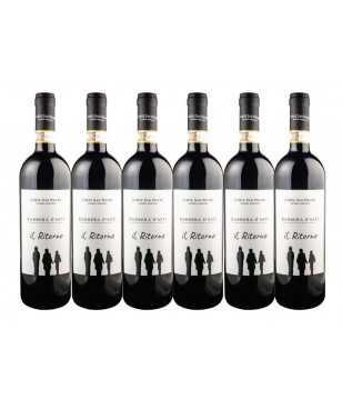 Corte San Pietro 6 bottiglie Il Ritorno Barbera SPEDIZIONE GRATUITA IN ITALIA
