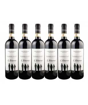Corte San Pietro 6 bottles Il Ritorno Barbera FREE SHIPPING OVER 150 EUROS