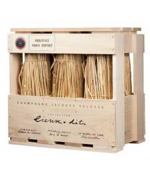 Cassa legno 6 Jacques Selosse Lieux-Dits Champagne AOC