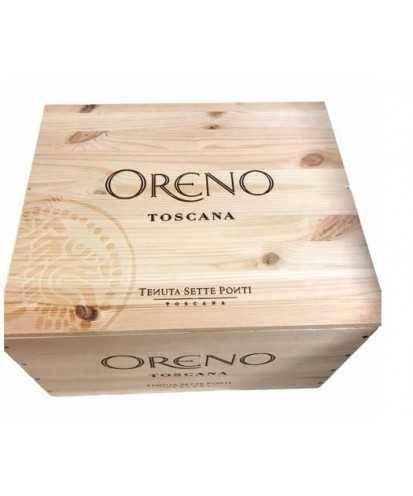 Cassa in Legno Oreno da 6 bottiglie *351