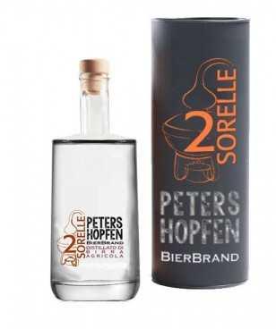 2 Sorelle Peters Hopfen Distillato di Birra Artigianle 50 Cl
