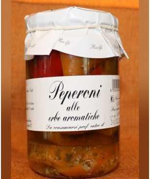 Riolfi Peperoni alle erbe aromatiche 280 gr