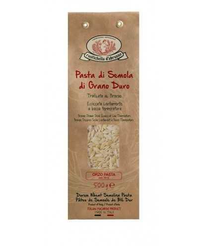 Rustichella d'Abruzzo Orzo Pasta 500 gr Semola di Grano Duro Pasta
