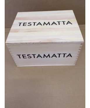 Cassa in Legno Testamatta 2015 da 6 bottiglie *6/7